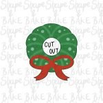 Cut out reef cookie cutter
