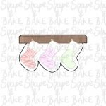 Hanging stockings cookie cutter
