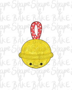 Jingle bell cookie cutter