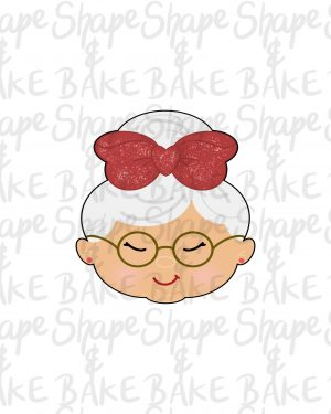 Mrs Claus 2021 cookie cutter