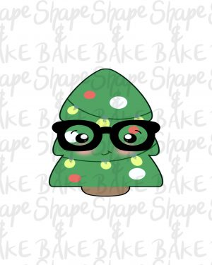 Nerdy tree cookie cutter