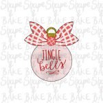 Ribbon ornament cookie cutter